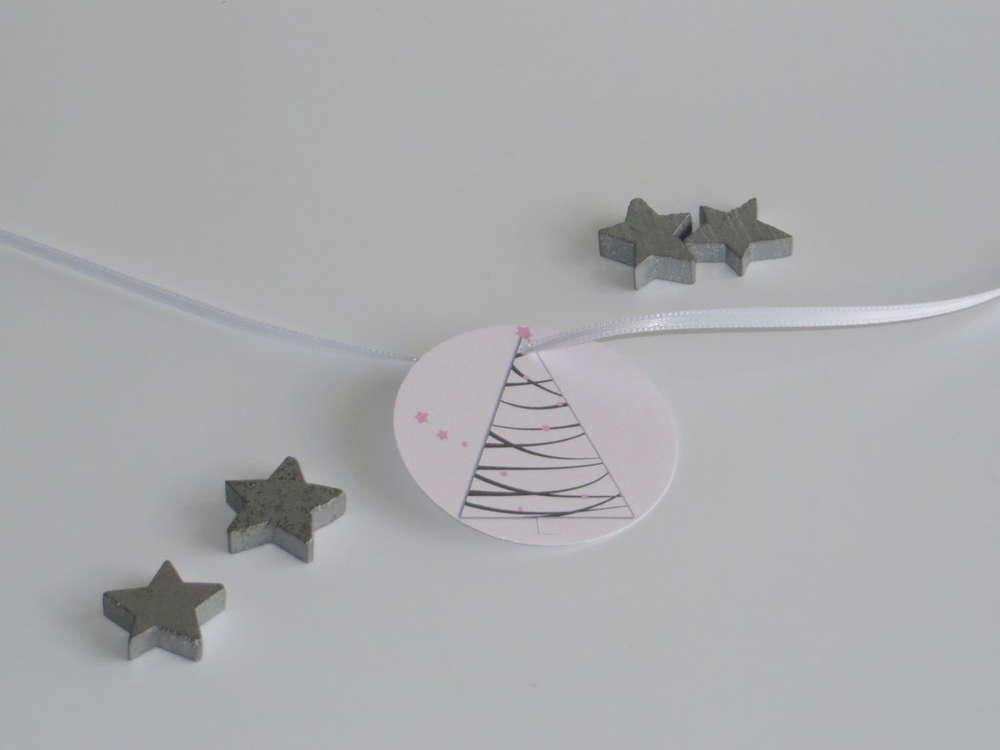Rosa Weihnachtsbaum.Anhänger Weihnachtsbaum Rosa